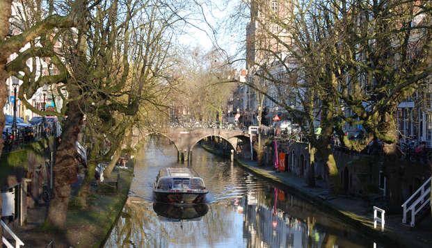 Ontdek het centrum van Utrecht vanaf het water!