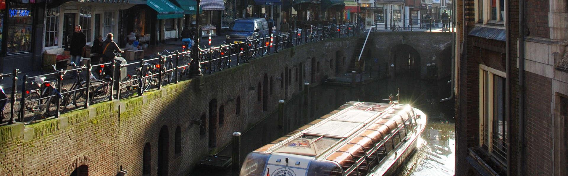 Croisière sur le canal d'Utrecht et demi-pension entre ville et nature (2 nuits minimum)