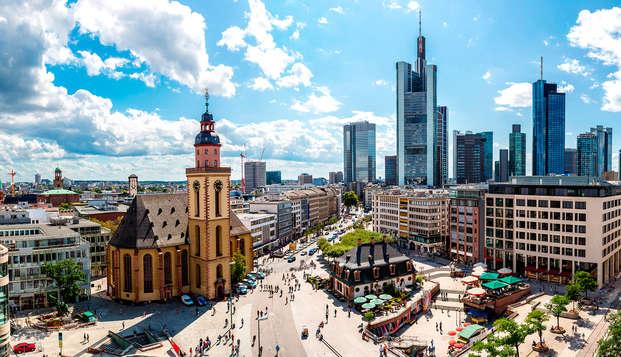 Descanso y relax en la moderna ciudad de Frankfurt