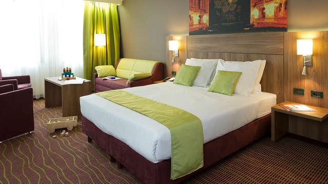 Overnacht in een superior kamer gelegen in het hartje van Antwerpen (vanaf 2 nachten)
