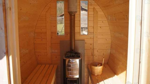 toegang tot de sauna