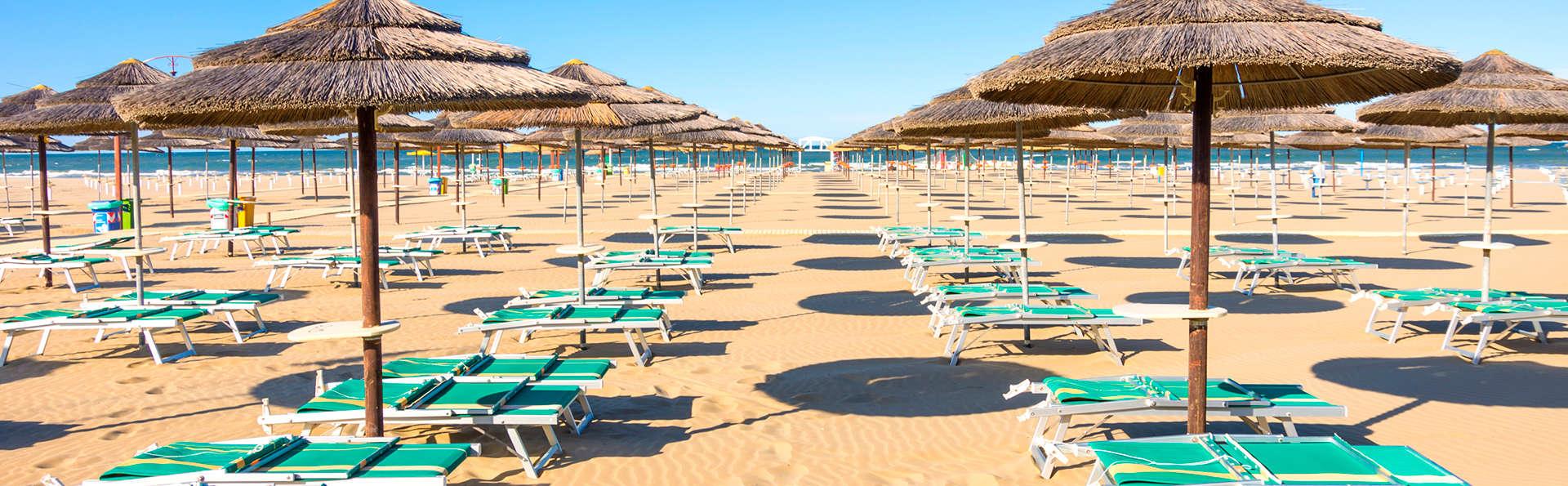 Oferta especial: una semana de relax en la costa de Rimini (7 noches)