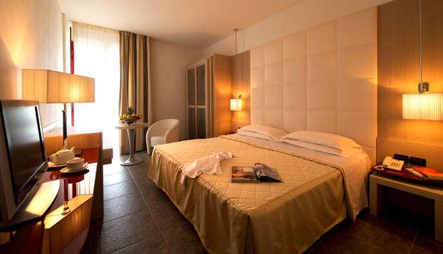 Weekend di relax a Chianciano Terme con percorso spa e degustazione di vini