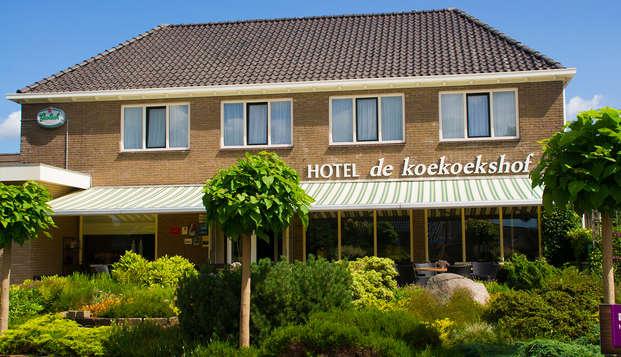 Gastvrijheid en comfort in het mooie Drenthe (vanaf 2 nachten)
