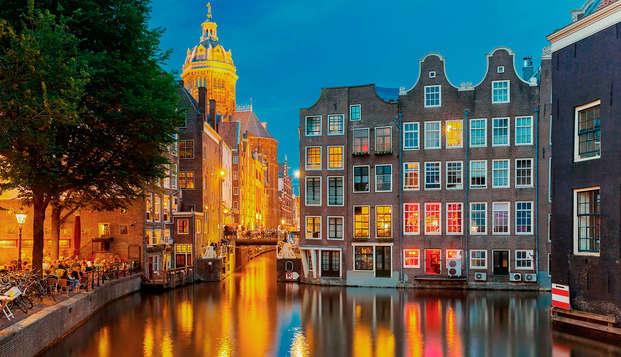 Découvrez Amsterdam et détendez-vous au centre de bien-être (à partir de 2 nuits)