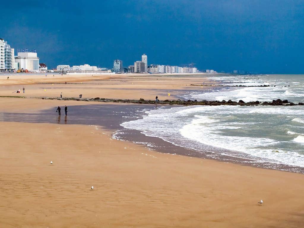 Séjour Belgique - Profitez du calme et de l'air frais de la mer dans cet hôtel à 100m de la plage  - 3*