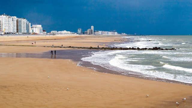 Uitwaaien aan het strand en ontspannen in de wellness