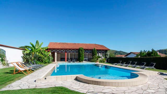 Hotel con encanto y tradición en Ainhoa, en el País Vasco francés