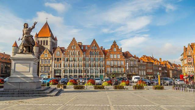 Speciale promotie: Cultureel weekend met een 3-gangendiner in Doornik