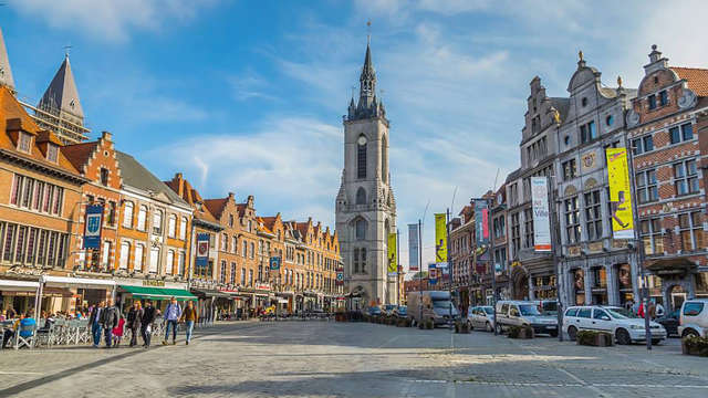 Op ontdekking in Doornik met treinticket naar Lille