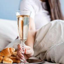 Week-end avec petit déjeuner aux bulles