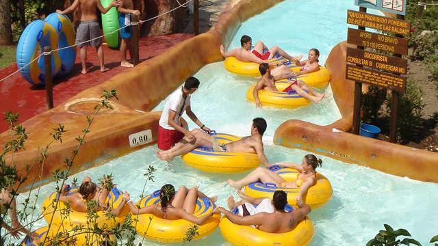 1 Entrada para el parque acuático Aquaola para 2 adultos