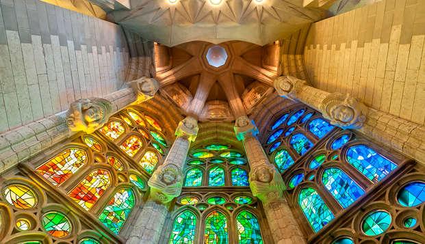 Escapada en Barcelona con entrada a la Sagrada Familia (desde 3 noches)