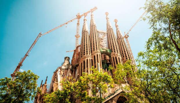 Escapada en Barcelona con entradas a la Sagrada Familia