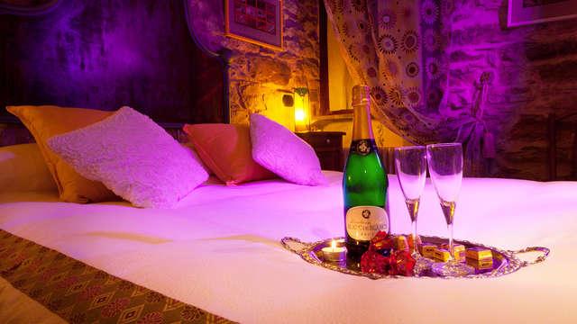 Soggiorno e degustazione di vini in camera in un borgo incantato