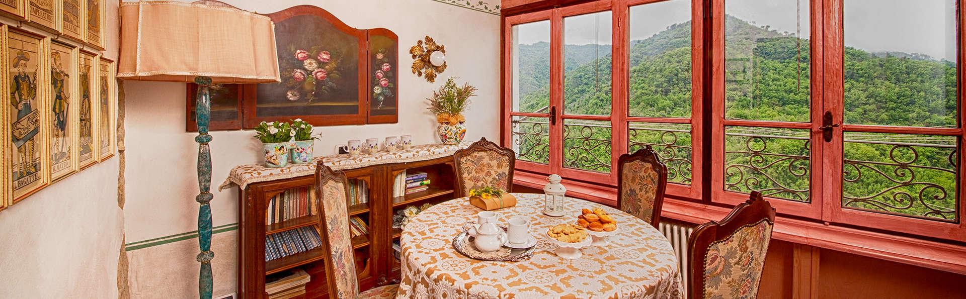 Week-end détente dans le superbe Borgo Ligure