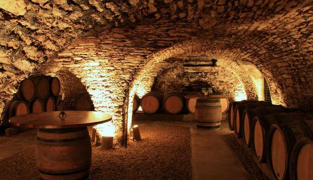 Séjour en chambre de luxe avec dégustation de vins à Beaune