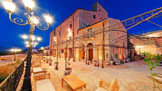 Estancia romántica con cena incluida entre Riserva dello Zingaro y San Vito Lo Capo