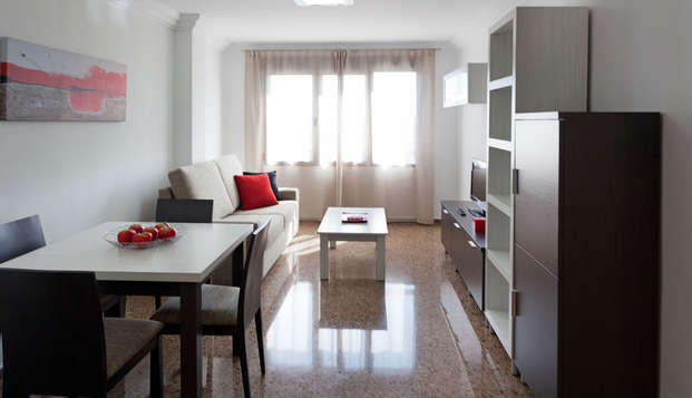 Escapada a Valencia en Apartamento céntrico con alquiler de bicis