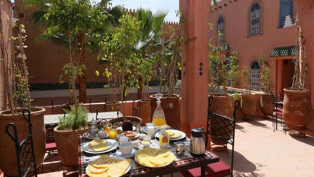 Masaje y relax en la fantástica Marrakech, la ciudad imperial
