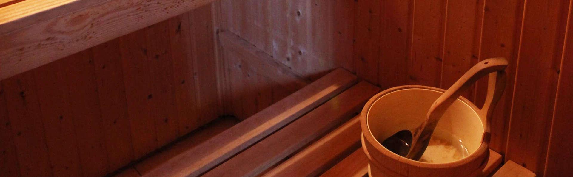 Week-end romantique et détente en amoureux dans le sauna et le jacuzzi privés (à partir de 2 nuits)