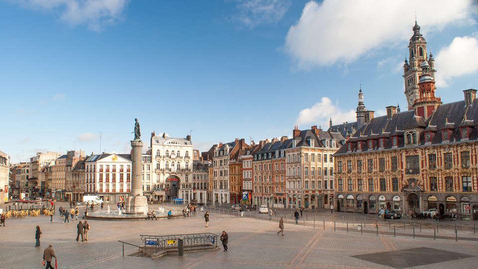 The Originals City, Hôtel Ascotel, Lille Est Grand Stade (Inter-Hotel) - edit_Fotolia_41029714_Lille.jpg