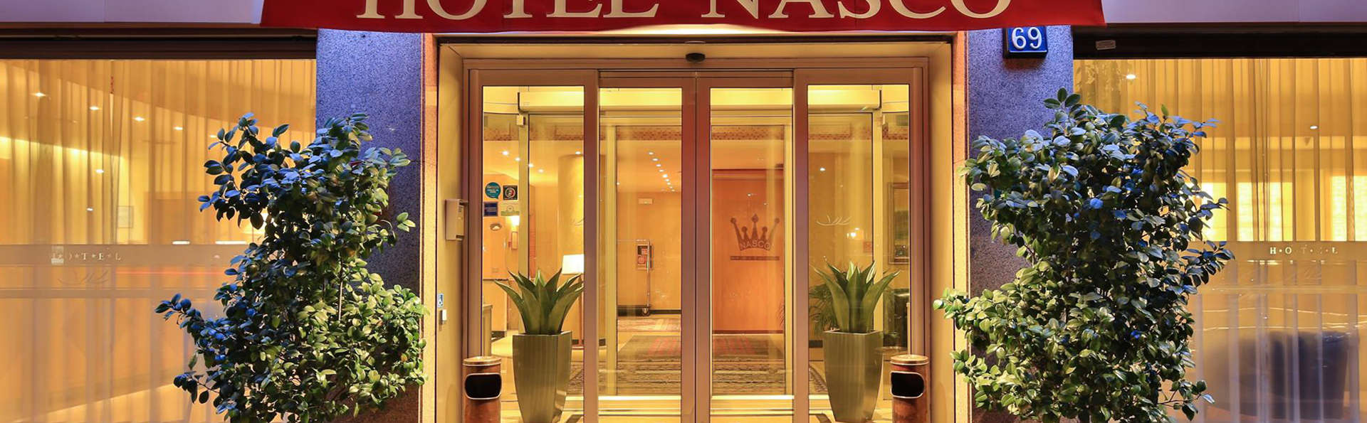 The Originals City, Hôtel Nasco, Milan (Qualys-Hotel) - EDIT_entrance.jpg