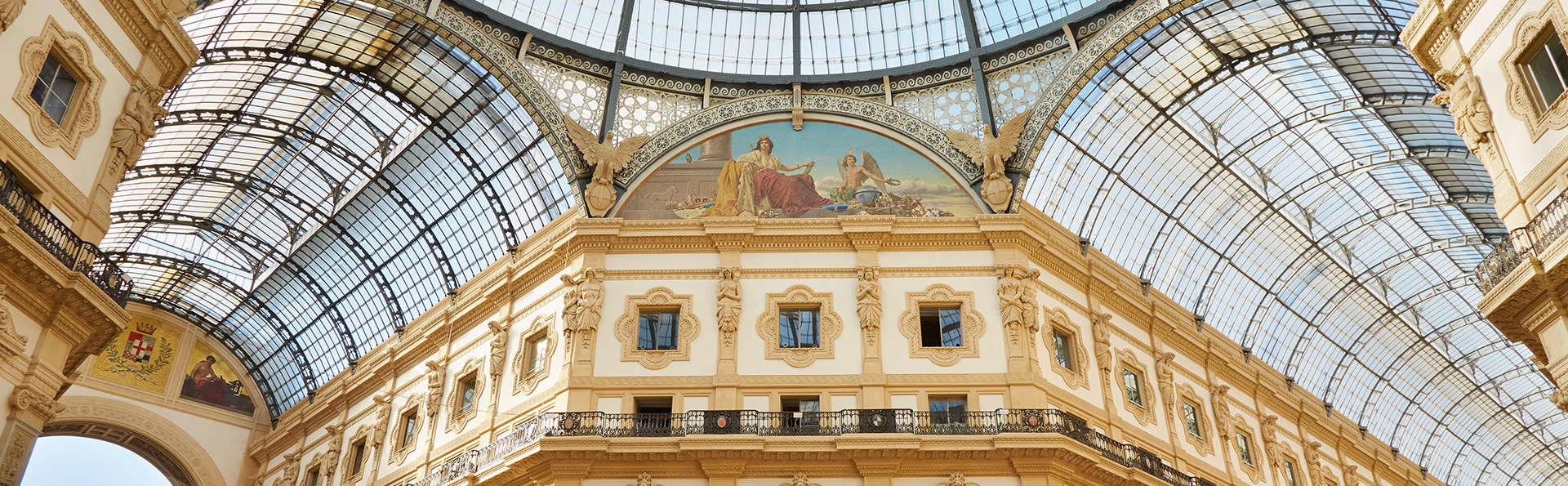 Lujo en el centro de la cosmopolita Milán