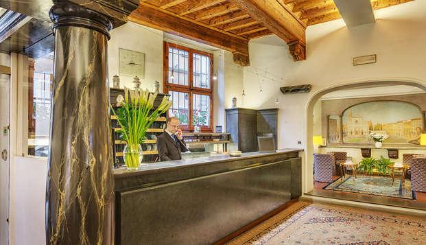 ¡Quédate en Florencia en un increíble hotel boutique en el centro! ¡No te lo pierdas!
