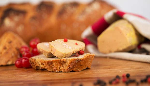 Week-end découverte avec visite du Musée du foie gras sur les rives du Lot