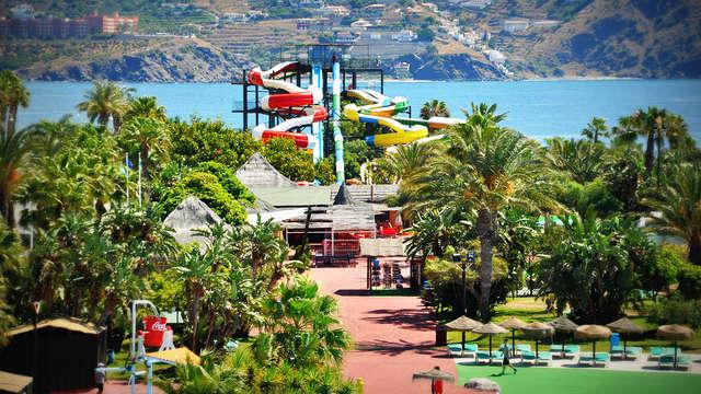 Mini-vacances à Almuñecar près de la mer avec entrées au parc Aquatropic