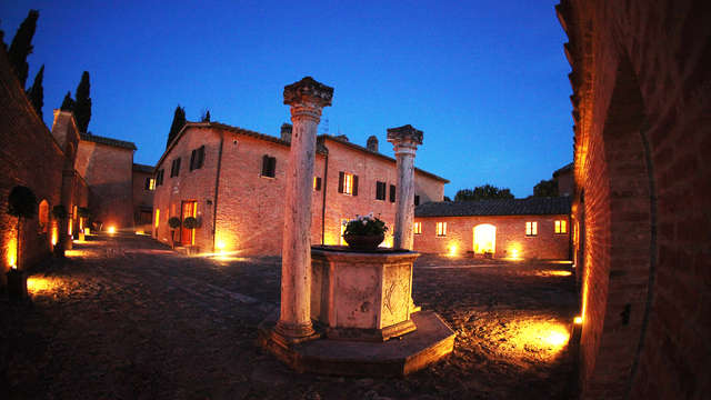 Weekend di relax con spa in bellissimo castello in Toscana