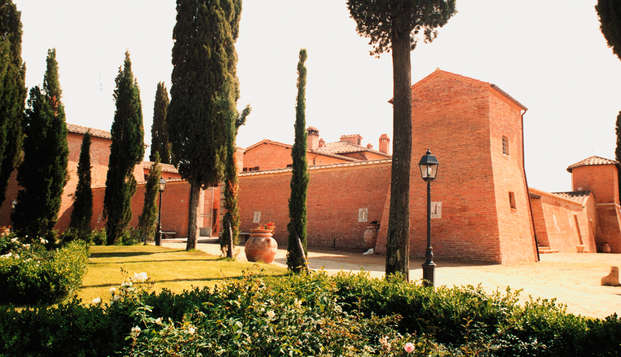 Weekend relax in un castello vicino a Siena