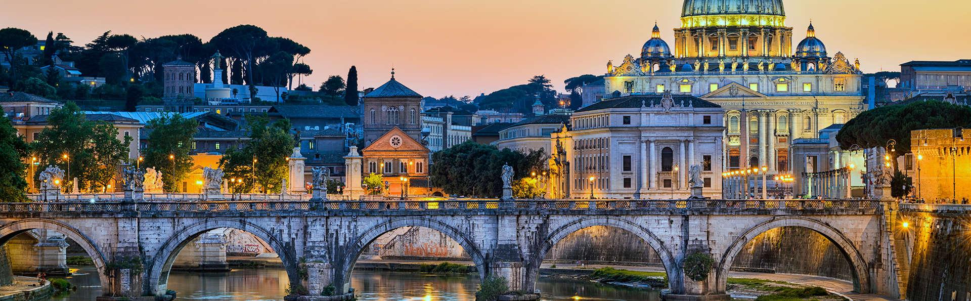 Magia en pareja bajo el cielo de Roma