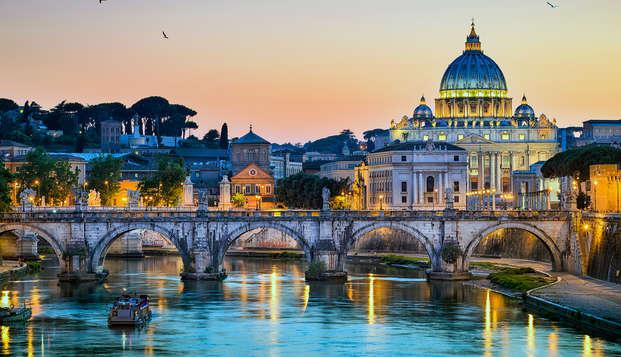 Offerta a Roma: alle porte del centro con bottiglia di benvenuto in camera!