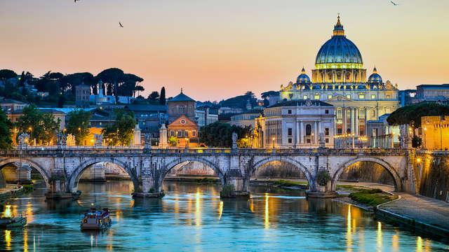 Roma: soggiorno alle porte del centro con bottiglia di benvenuto in camera!