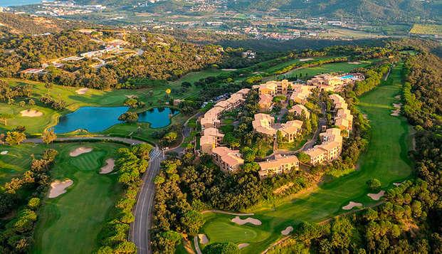 Costa Brava en un Resort con piscinas con hasta 4 personas incluidas en apartamento en Platja d' Aro