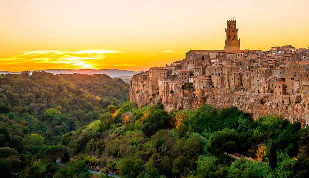 Charme 4* en Toscane : cadeau de bienvenue, massage et petit déjeuner servi en chambre