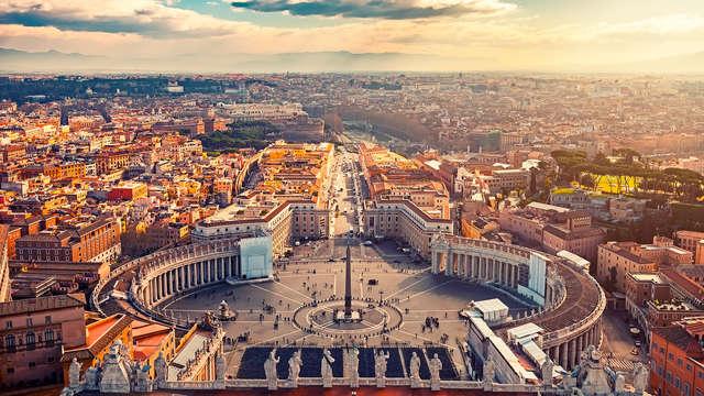 Vacanze a Roma: notte alle porte del centro con bottiglia di benvenuto!
