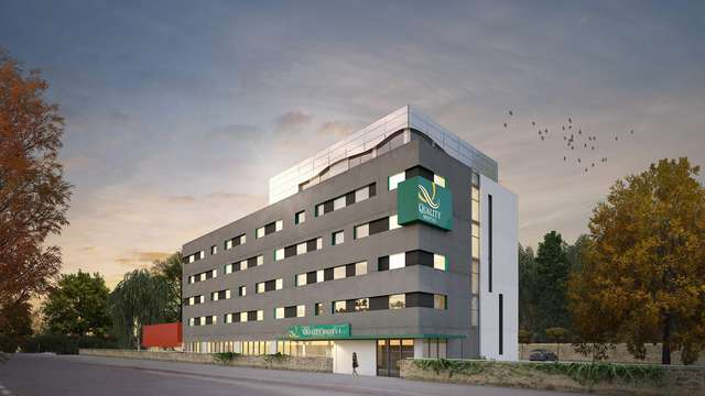 Quality Hotel Belfort Centre - facade