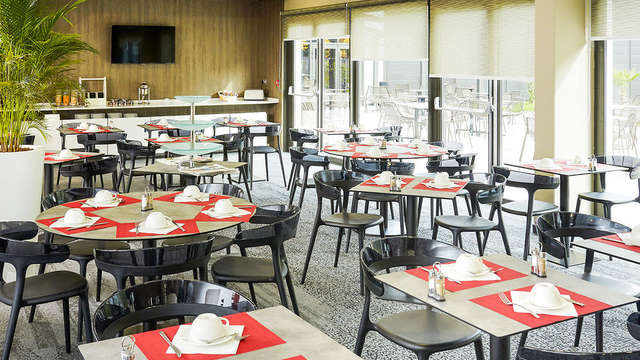 Quality Hotel Belfort Centre - Restaurant