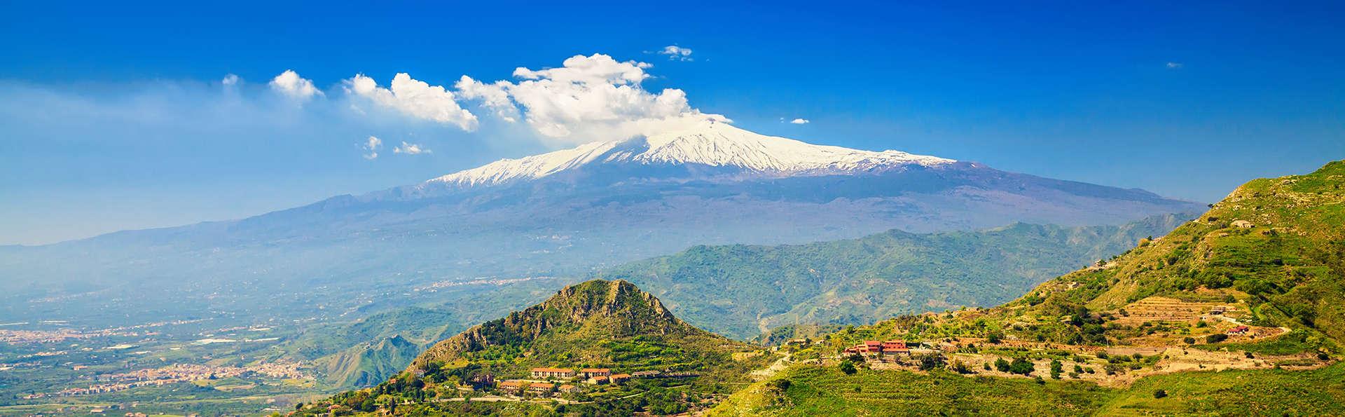 Sur les pentes de l'Etna dans un élégant resort 4*