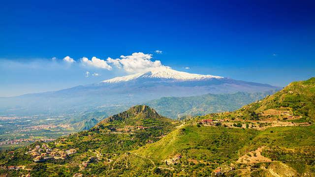 Alle pendici dell'Etna in elegante resort 4* con vista vulcano!