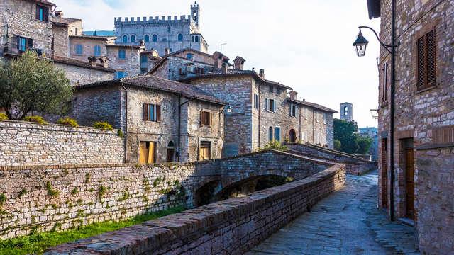Notte magica nel centro storico di Gubbio