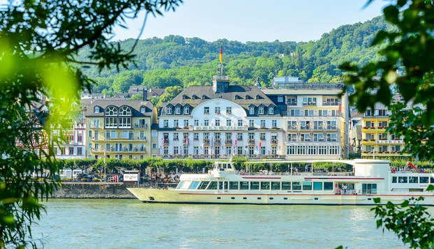Descanso y romanticismo a orillas del Rin