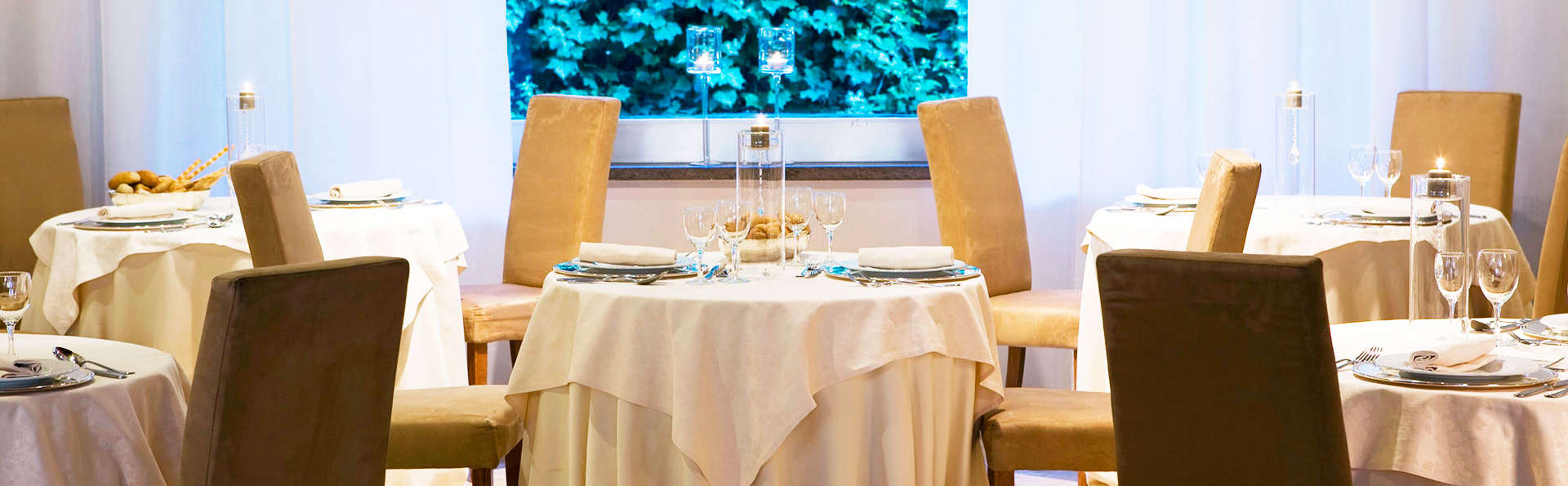 Nuit avec un dîner confortable dans le centre de Viterbe avec boissons comprises !