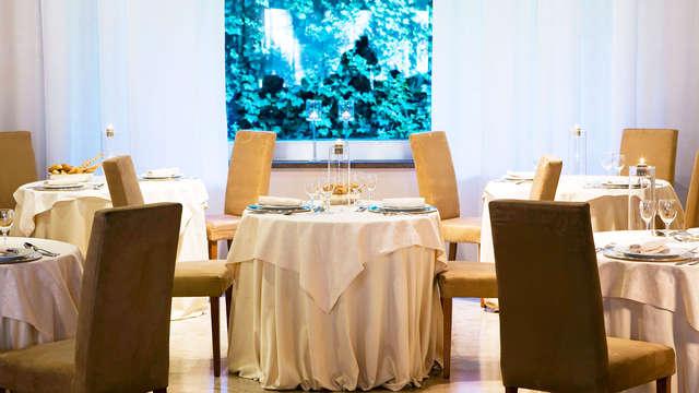 Vacanza con cena in centro a Viterbo, con bevande incluse!