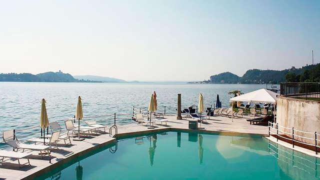 Incanto sul Lago Maggiore: notti in posizione spettacolare sulla riva con drink di benvenuto!