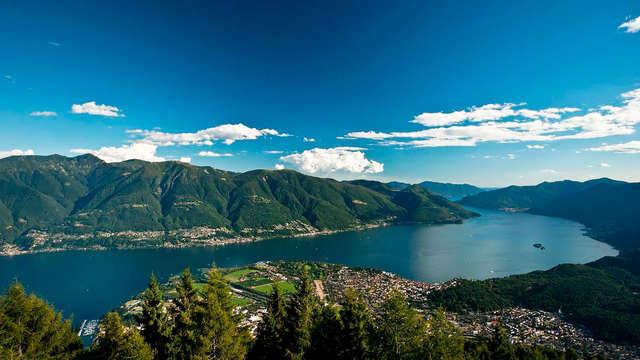 Soggiorno in appartamento per 4 sul Lago Maggiore