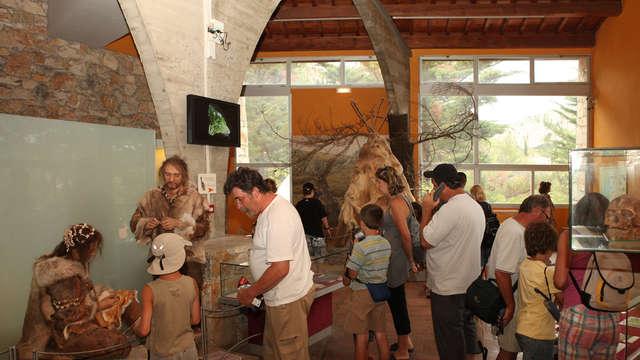 1 Entrée au musée de la Préhistoire de Tautavel pour 2 adultes
